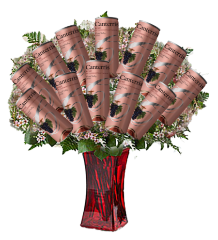 Dozen Rosés Can Gift Set