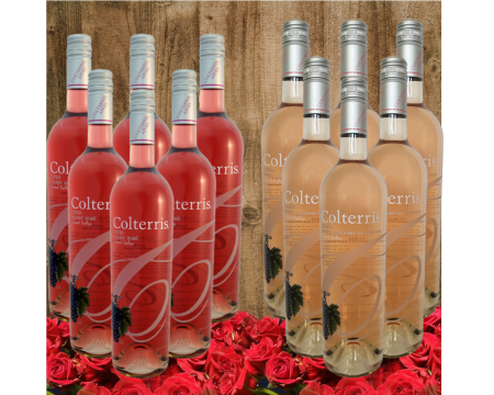 Dozen Rosés Bottle Gift Set