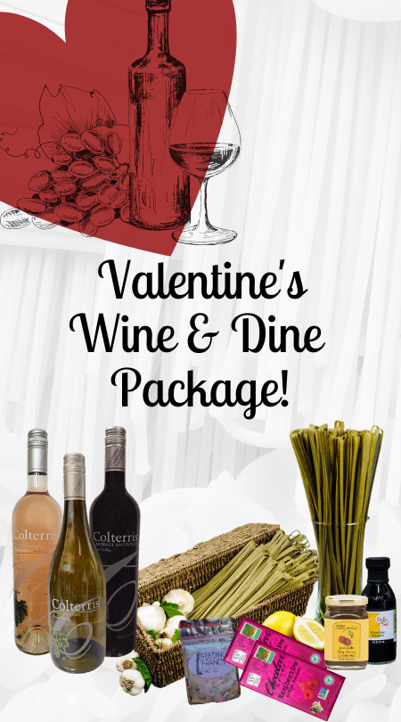 Valentine Wine and Dine Package!