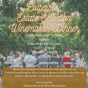 Colterris Estate Selection Winemaker Dinner