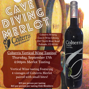 Cave Diving Vertical Tasting-4:00pm Merlot
