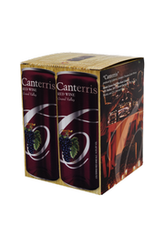 """Canterris"" Red Wine Box"